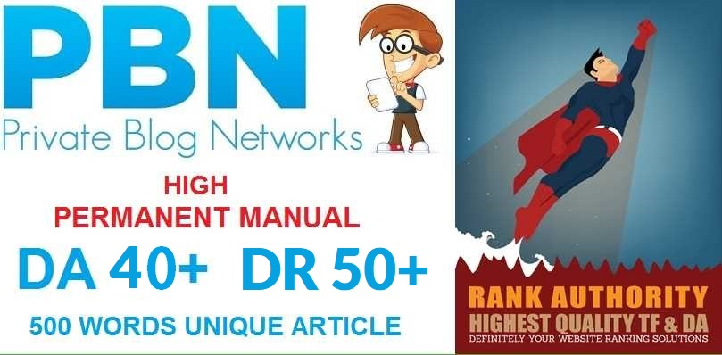 Get Top 30 web 2.0PBN backlinks from Unique 30 domains