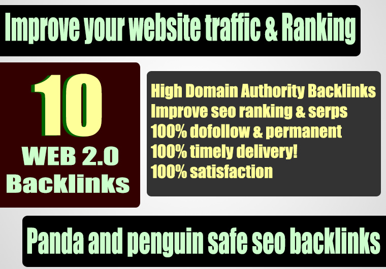Get Unique 10 Casino/Gambling/Poker/Judi Sites Da 50+ Pa 40+ PR 5 Web 2.0 Pbn
