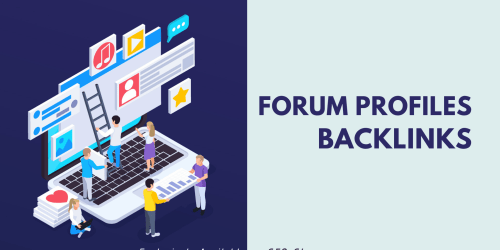 Manage 500 High Quality Forum profile backlinks for Your Site