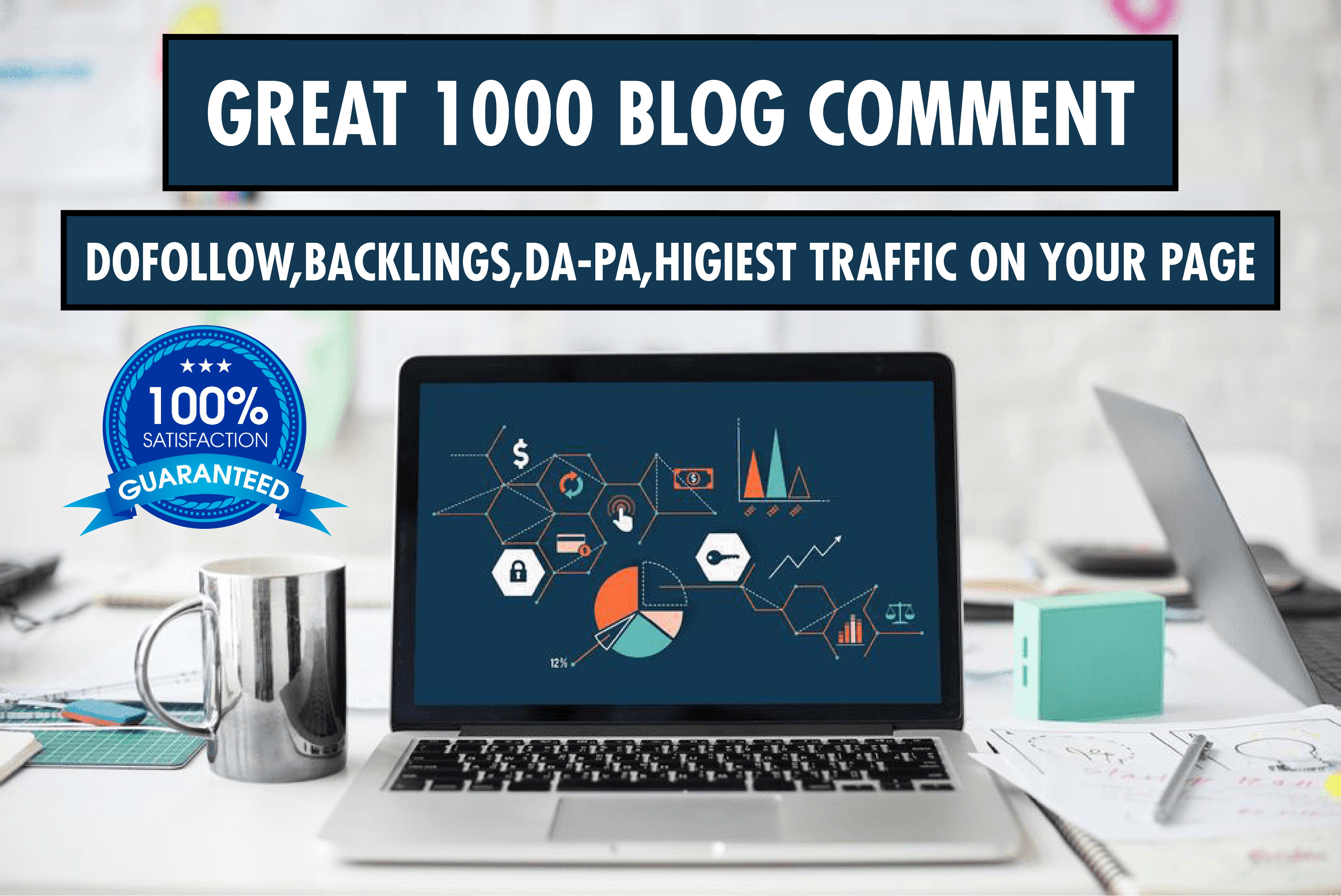 manually 1000 blog comment backlinks with google top ranking