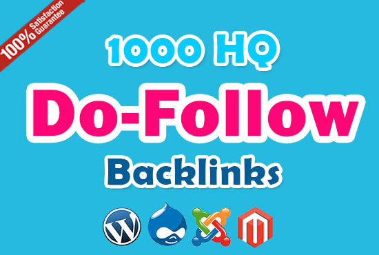 Provide 1000 do-follow backlinks