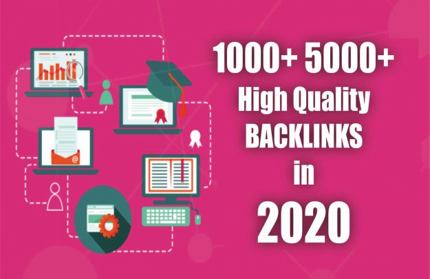Get 1000+ Mix Platform Of High Quality backlinks for your URL and keywords