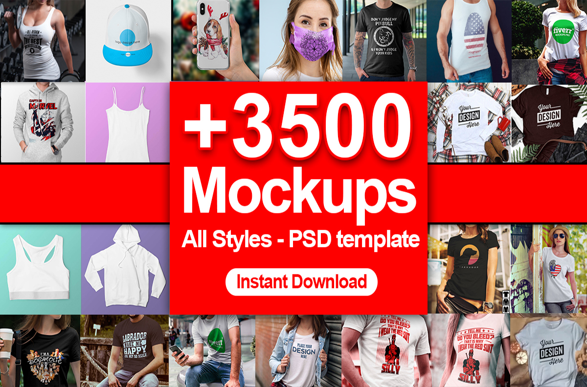 25k Tshirt Design Collection master Vector Template