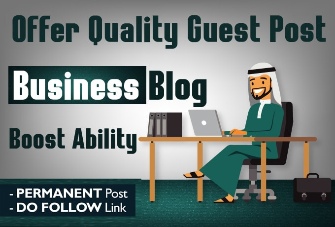 I will publish Guest Post Your content On Google News Approved DA 54 business blog