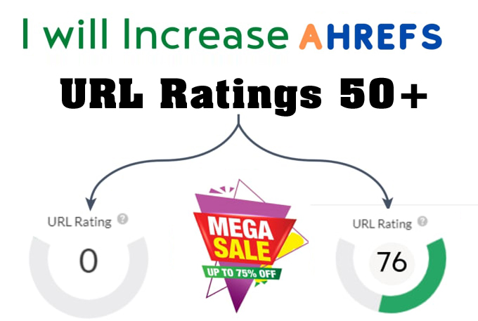 I will increase ahrefs URL rating ahrefs ur 50 to 70 plus guaranteed