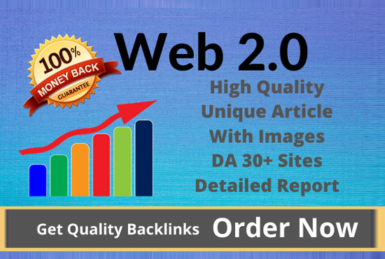 I will build 100 web 2 0 backlinks manually