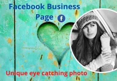 I will setup & optimize facebook business page,attractive cover photo,remove & replace background