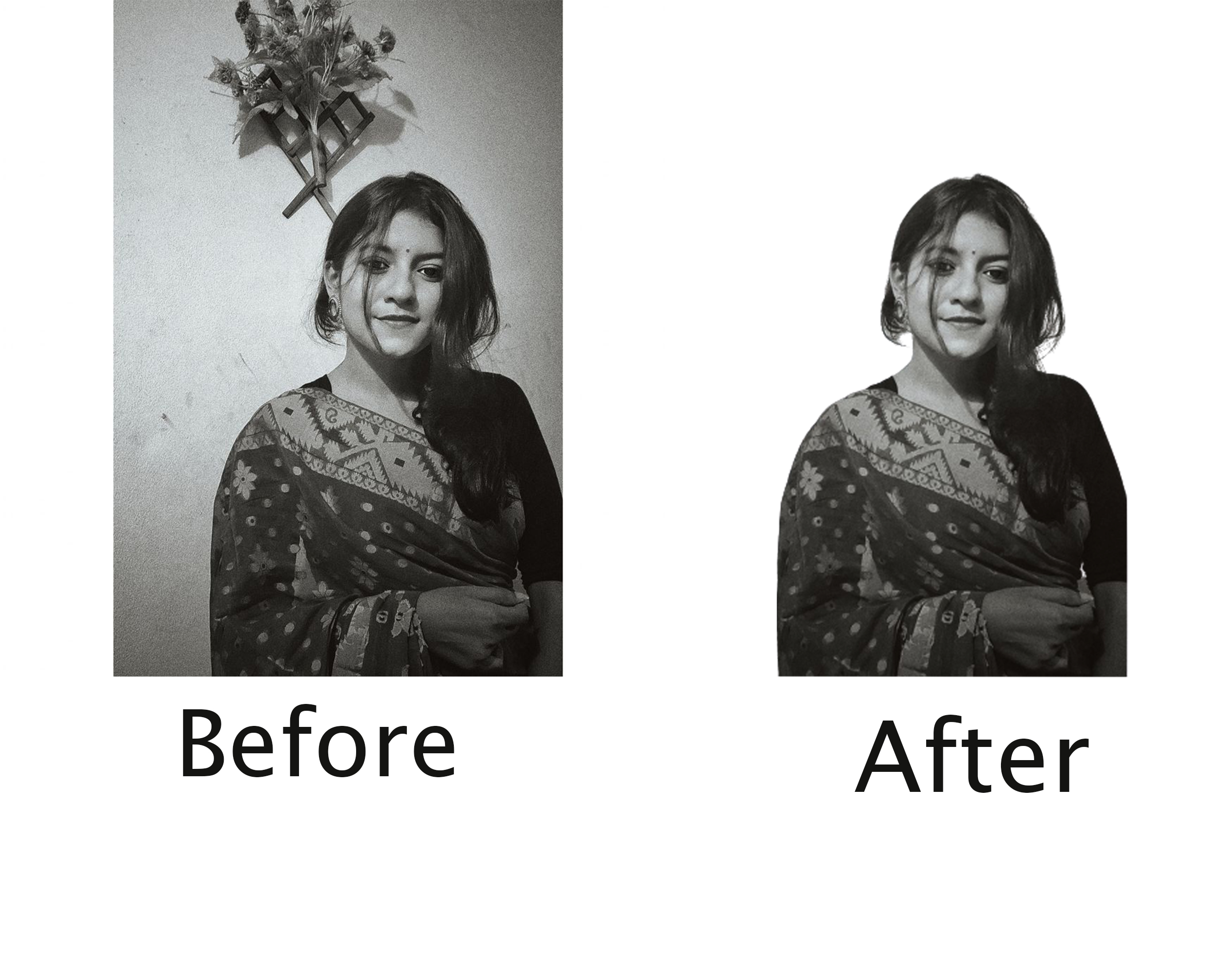 I will professionally remove background 40 images with white or transparent