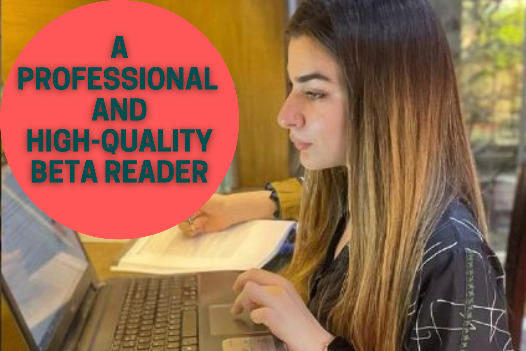 I will beta read your book professionally
