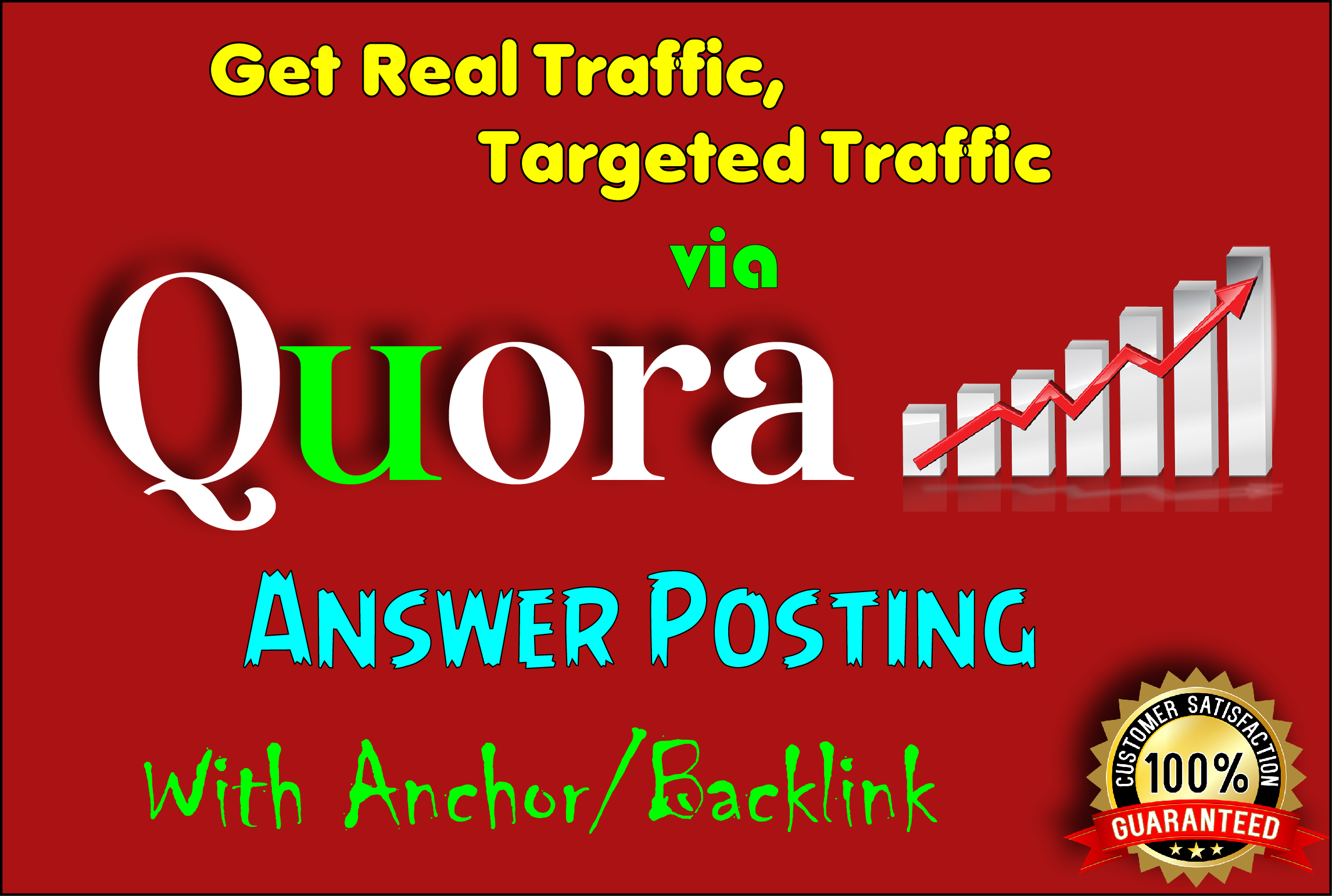 I provide 15 HQ Quora answer to promote your website via backlink