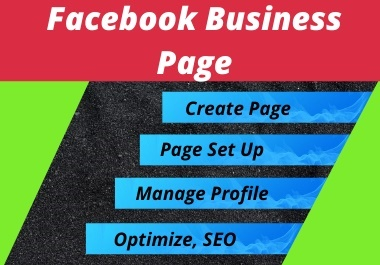 I will set up your Facebook business page and SEO optimize