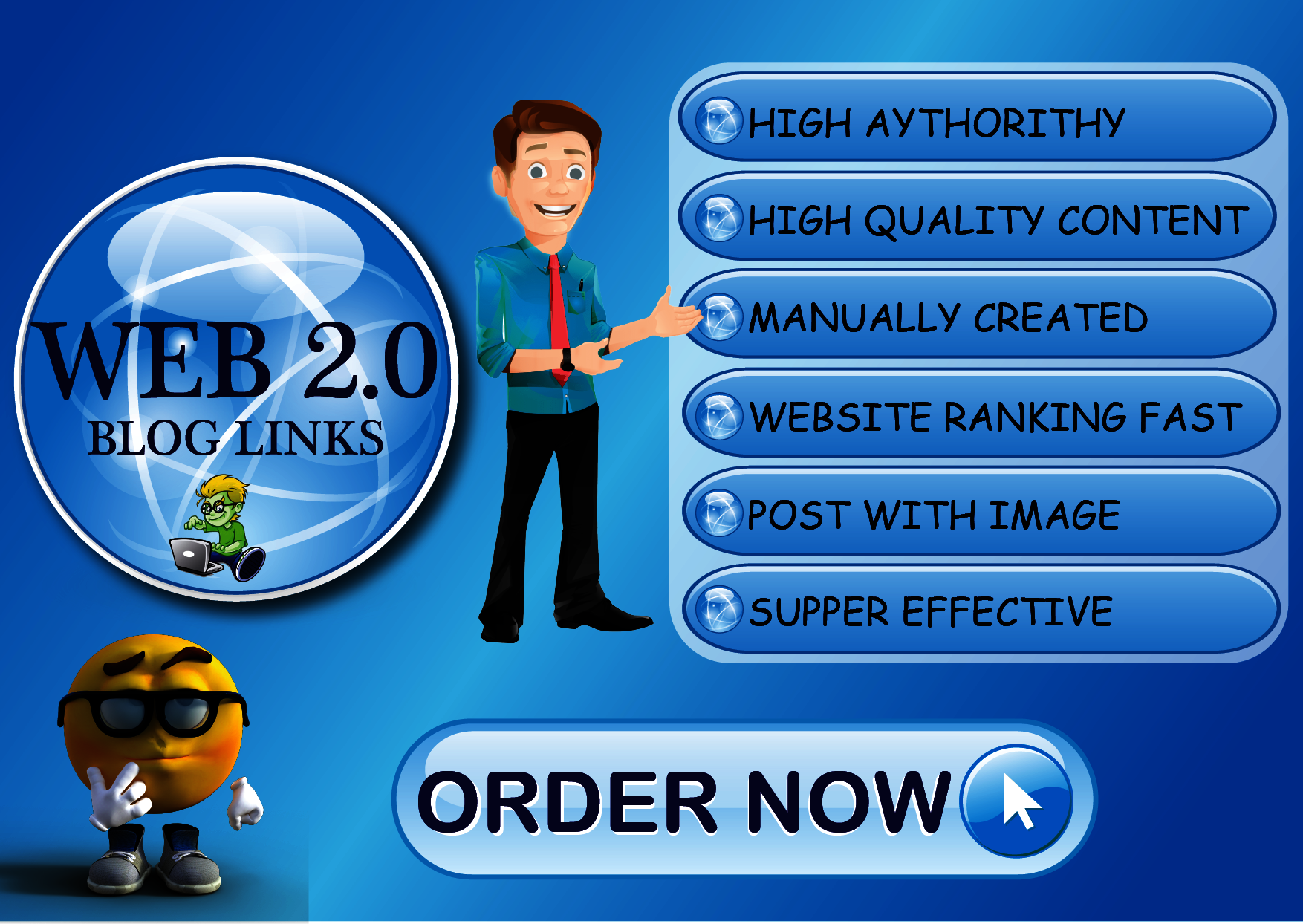 I Will Provide High DA Web 2.0 Do-follow backlinks for Ranking Your Site.