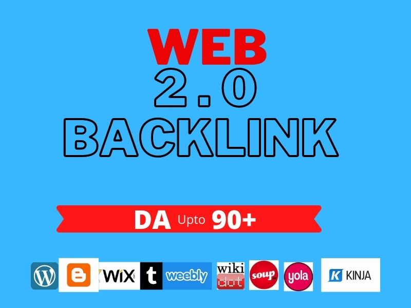 Total 500 HQ -Web 2.0- Social Book Marking Backlinks-SEO linkbuilding With High DA PA DR UR TF CF