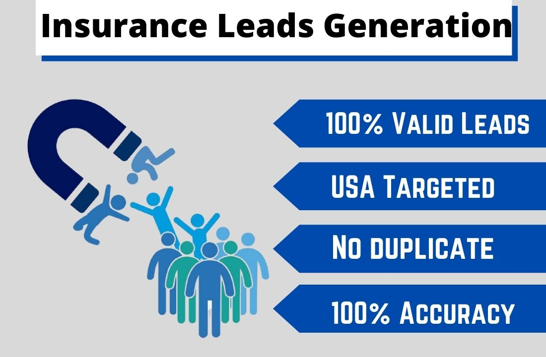 I will provide you 3k USA based Insurance Leads