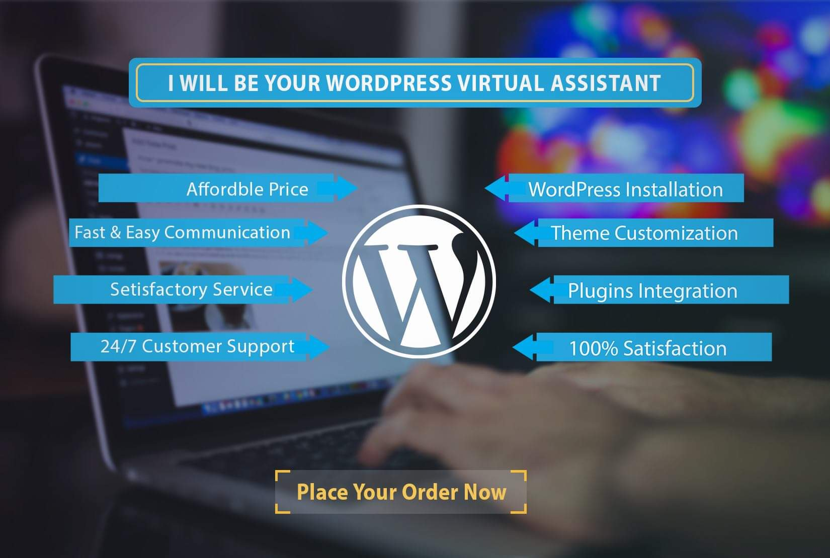 I will create,  fix and customize a responsive wordpress website within a shortest time