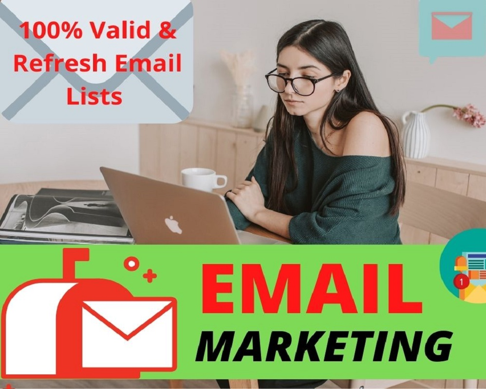 I will collect 25K Valid niche targeted bulk Email list for Email marketing
