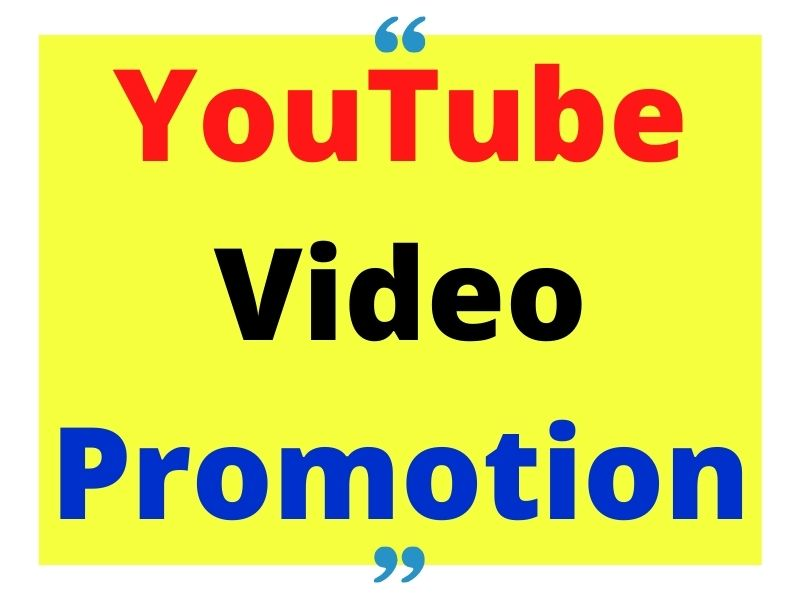 HQ organic YouTube video promotion social media marketing to large audience