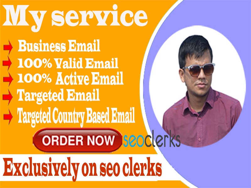 I Will Provide 2k Valid & Active Email Within 24 hrs