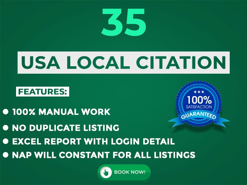 Top 35 live local citations and Local SEO