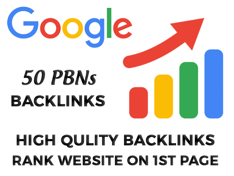 50 Permanent PBNs powerful Backlinks