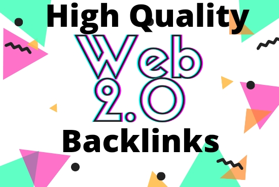 I will provide high quality Web2.0 backlinks