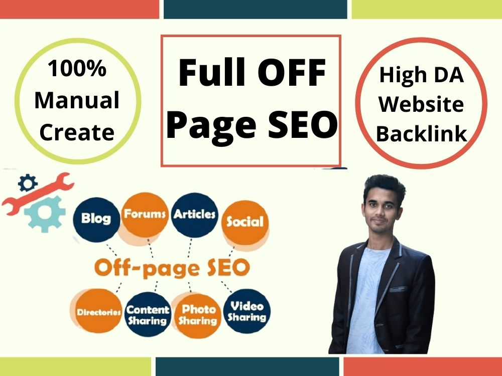 Provide Full Off Page SEO Monthly Service For Ranking Site Fast