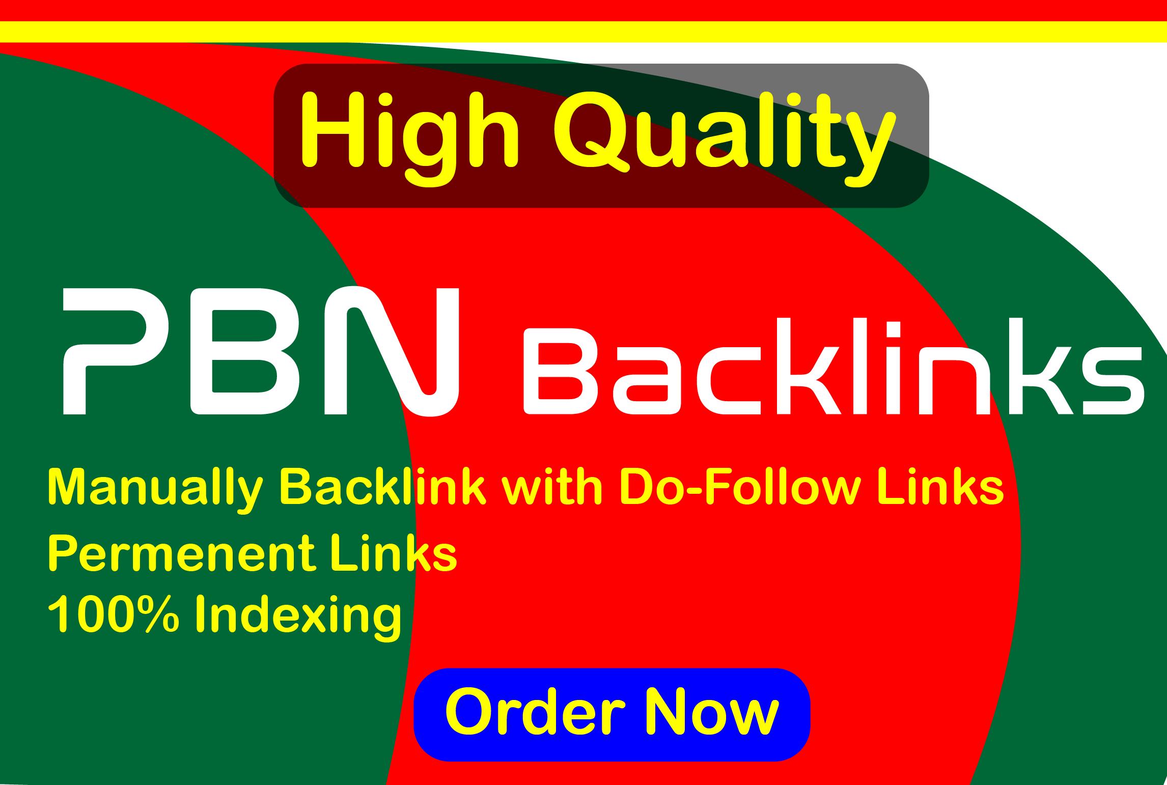 Build 15 High PA DA TF CF Mainpage PBN Backlinks - Do follow Quality for your Links