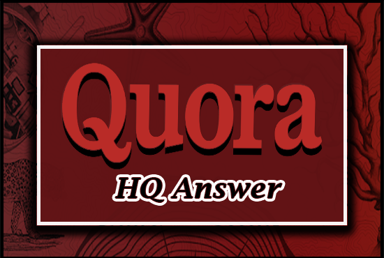 10 High Quality Quora Answer With Organic Traffic
