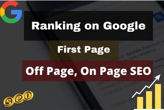 RANK your Site on Google First Page with Guaranteed