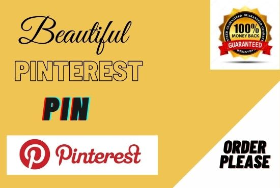 I will set up or update your Pinterest profile with SEO optimized 1 board with 8 pins