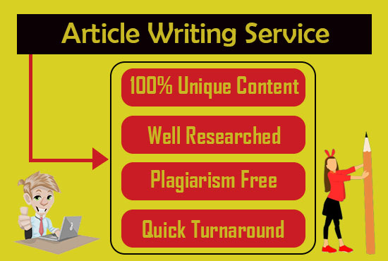 Provide 500 to 800 words SEO optimized articles and blog posts