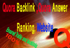 Quora Backlink 15 Guaranteed Quora Answer with unique articles for Ranking Your Website