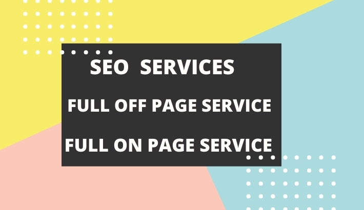 I will provided deo service or full off page,  on page service