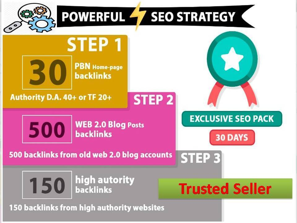 Best powerful Seo strategy high authority Total 700+ PBN Backlinks And blog posting HQ Backlinks