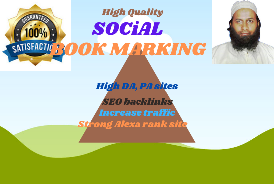I will make 620 quality bookmarks for your website