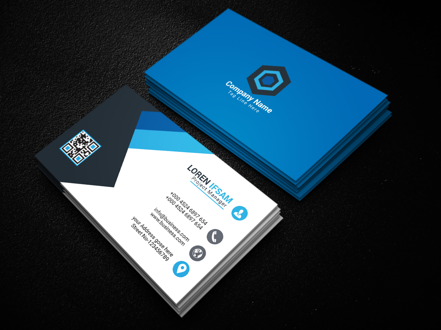 I will provide business card design.