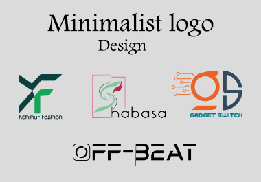 i will do modern minimalist logo design for you business