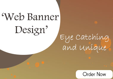 I will do professional 3D web banner design.