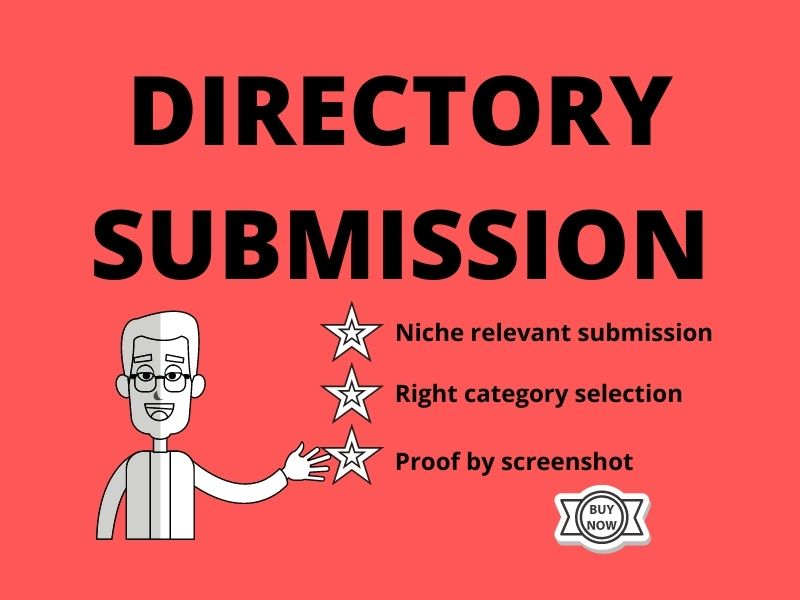 Niche Relevant 30 High Quality Directory Submission.