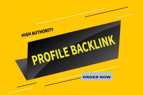 I Will Create Manually100 High DA and PA profile Backlinks .
