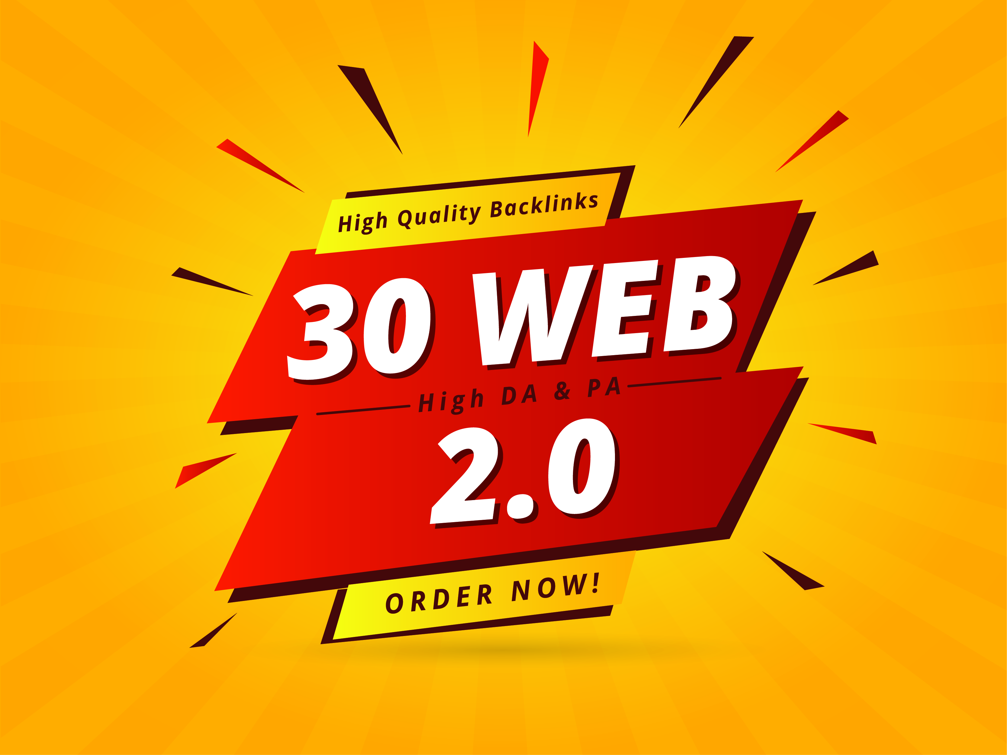 I will Provide 30 High quality Web 2.0 Profile Backlinks