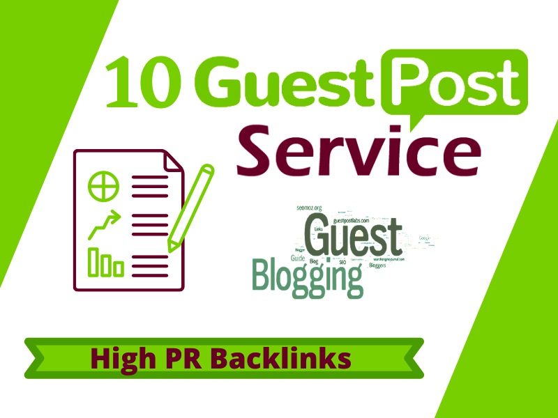 Write and Publish 10 SEO Guest Post On High Authority Website