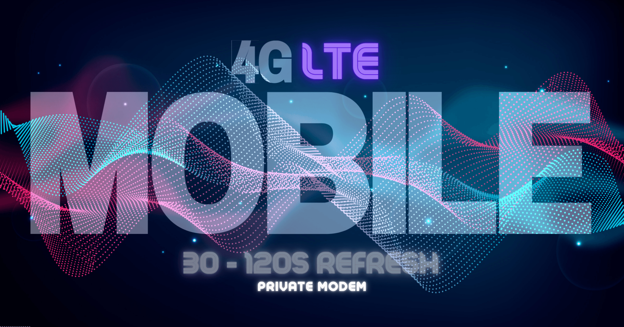 Private - 4G LTE Mobile Proxy - 30-60 Second Refresh - AUTO DELIVERY - GREAT FOR SEO GLOBAL