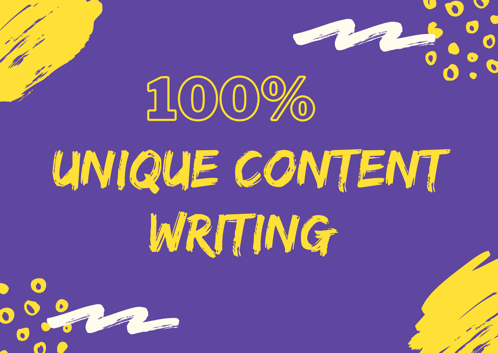 I will write unique content & 1000+ words article ensuring high traffic & plagiarism free