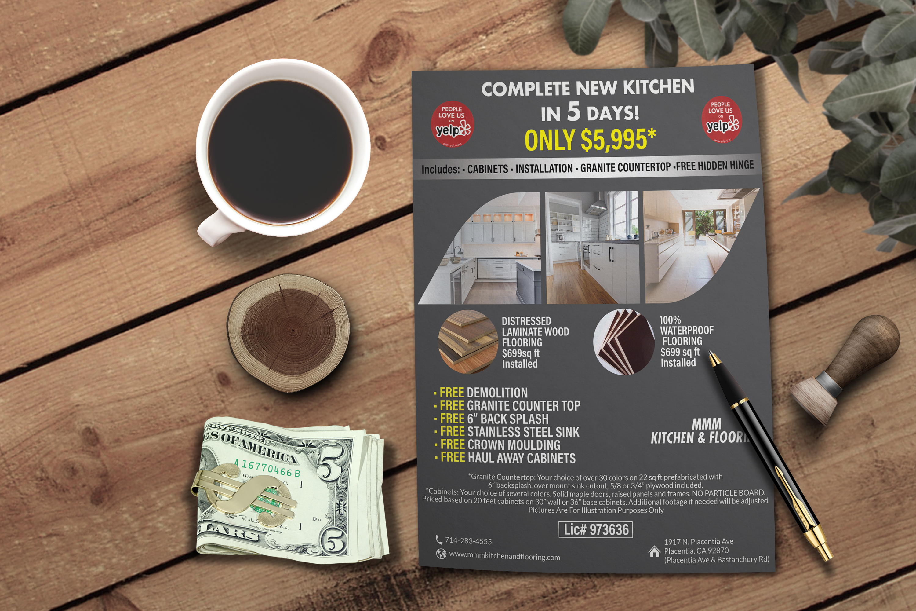 I will create professional corporate flyer