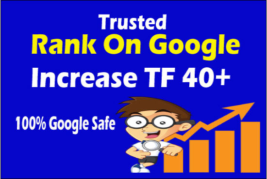 increase trust flow up to 30 with SEO white hat backlinks