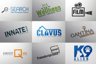 I will do modern and minimalist business logo design
