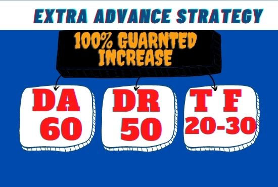 I will icrease domain rating ahrefs dr 60 moz da 60 tf 20 to 30