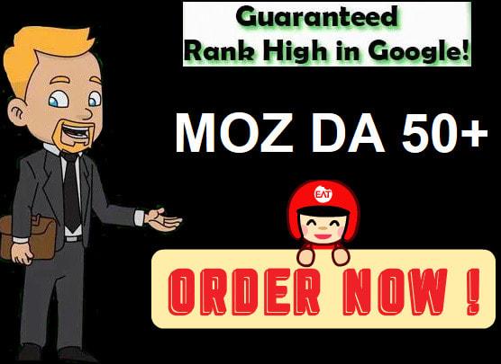 I will increase domain authority moz DA 50+