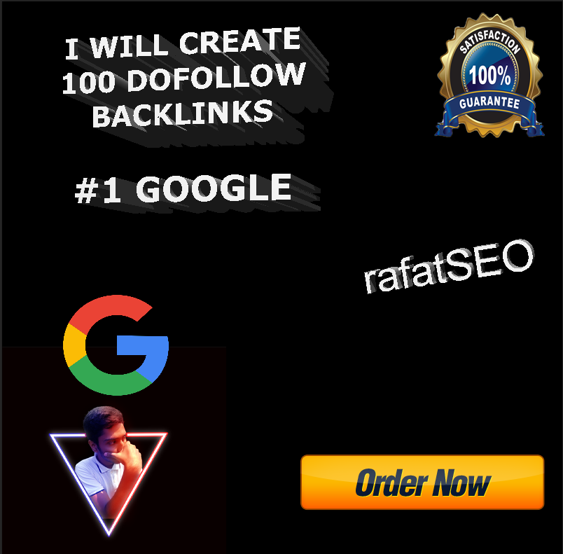 I will do 100 high da seo backlinks for rank website